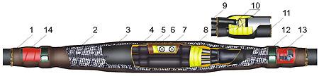Модифицированная соединительная муфта 10СТпМ
